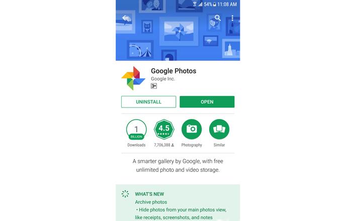بکاپ گیری از عکس ها با گوگل فوتوز
