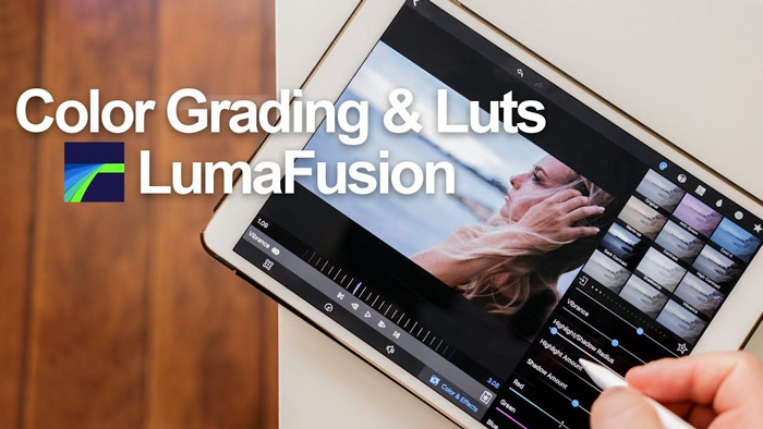 نرم افزار ویرایش فیلم LumaFusion