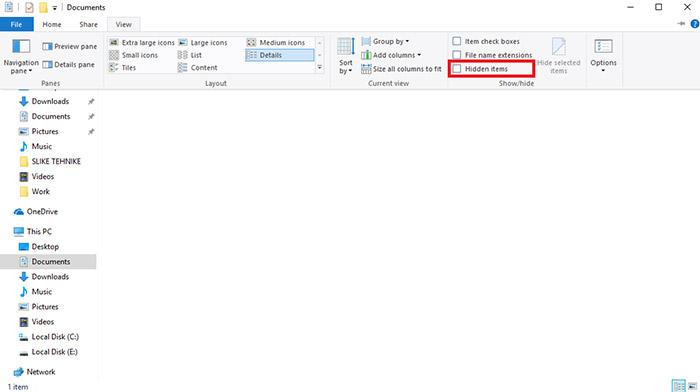حال پس از مخفی کردن یک فایل قصد داریم به بررسی این موضوع بپردازیم که چطور فایل ها را با حالت قبل بازگردانیم
