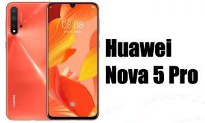هواوی Nova5 با پردازنده 7 نانومتری کایرین 810 معرفی می شود