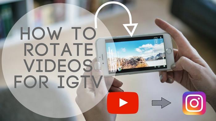 نحوه قراردادن ویدیو به صورت افقی در IGTV