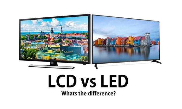 تفاوت صفحه نمایش LCD با LED