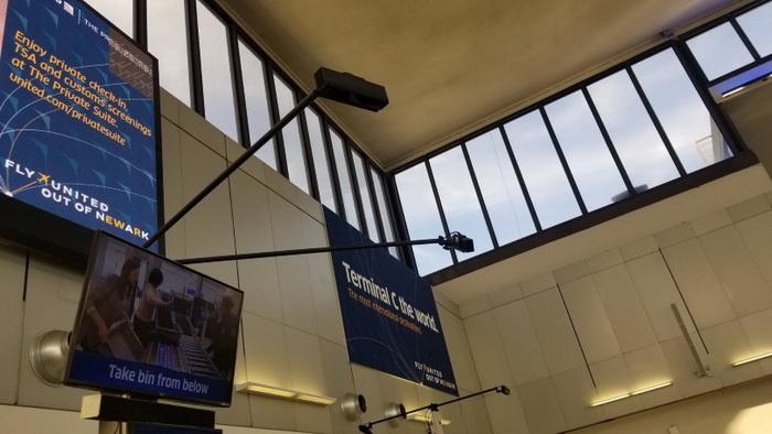 کینکت های استفاده شده در فرودگاه بین المللی Newark