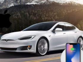 اپل به دنبال شارژ وایرلس خودروهای الکتریکی خود است