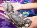 گوشی آیفون 6در دستان دختر 11 ساله آتش گرفت