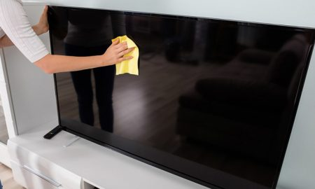 چطور صفحه نمایش تلویزیون LCD ، LED و ... را پاک کنیم؟
