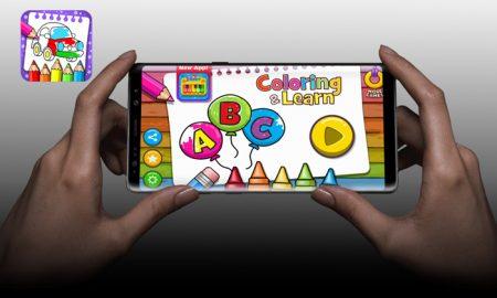 افزایش خلاقیت کودکان با دانلود اپلیکیشن Coloring & Learn