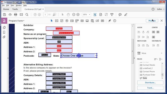 نرم افزار Adobe Acrobat DC