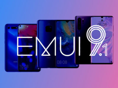 رابط کاربری EMUI 9.1 برای 10 گوشی هوشمند هواوی عرضه شد