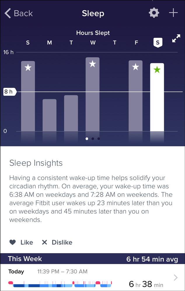 نحوه تنظیم ردیابی خواب با فیت بیت