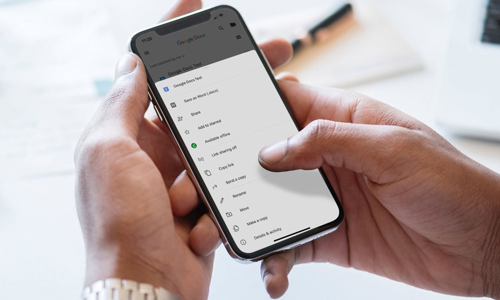 آموزش گام به گام استفاده از Google Docs در گوشی های هوشمند