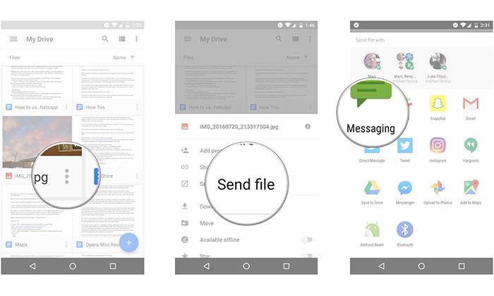 اشتراک گذاری فایل ها با دوستان در گوگل درایو