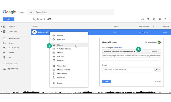 آموزش استفاده از گوگل درایو
