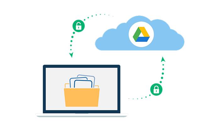 رمزگذاری در درایو گوگل به چه صورت است؟