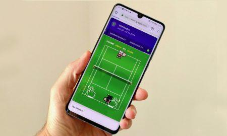 همزمان با مسابقات ویمبلدون 2019 ؛ با گوگل تنیس بازی کنید