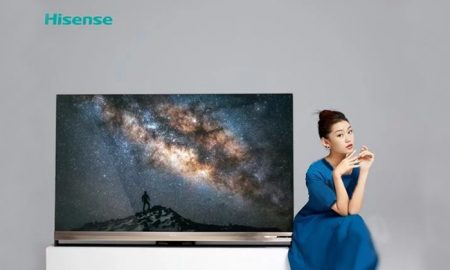 یکی از خاص ترین تلویزیون های جهان توسط کمپانی Hisense رونمایی شد