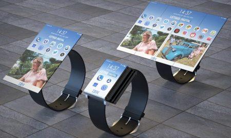 تبدیل ساعت هوشمند به تبلت در پتنت جدید IBM