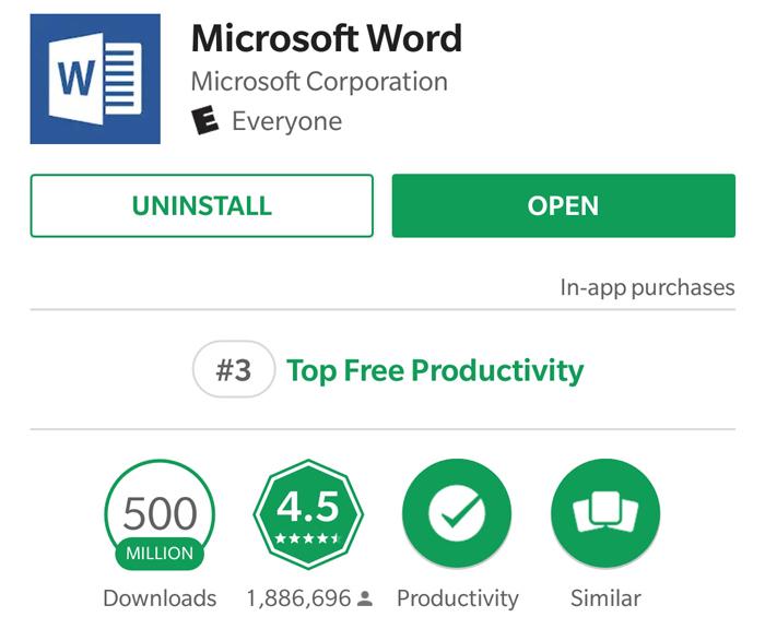 دلایل محبوبیت مایکروسافت ورد
