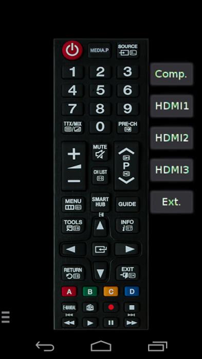 معرفی نرم افزار Samsung TV Remote Control App