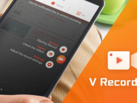 با دانلود Screen Recorder V recorder از صفحه نمایش خود فیلم بگیرید