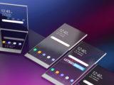 سونی گوشی هوشمند منعطف با سنسور های داخل صفحه نمایش تولید می کند