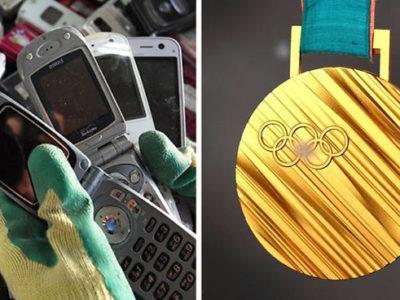 ساخت مدال های المپیک 2020 از زباله های الکترونیکی بازیافتی
