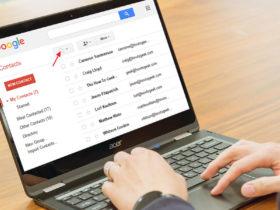 آموزش گام به گام انتقال مخاطبین از یک گوگل اکانت به حساب دیگری