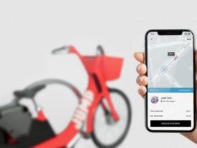 اپلیکیشن اوبر دوچرخه ها و اسکوترهای برقی را روی نقشه نشان می دهد