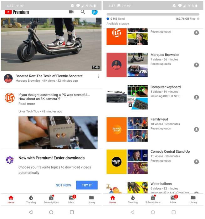 تست دانلود اتوماتیک ویدئو در یوتیوب