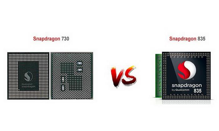 مقایسه دو چیپست Snapdragon 730 و 835