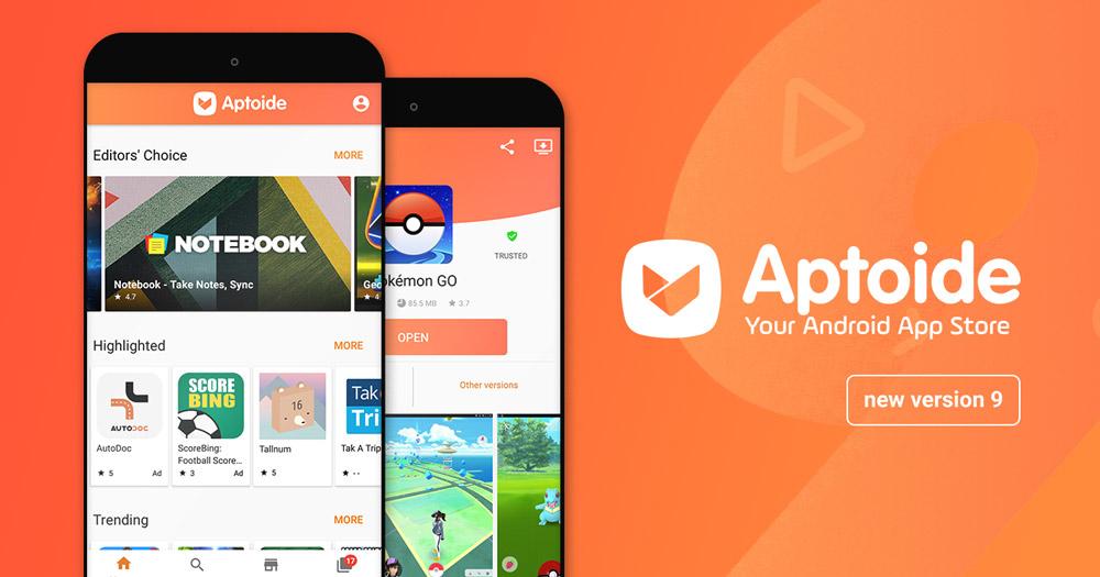 Aptoide، قدیمی ترین استور نرم افزار گوشی های اندرویدی