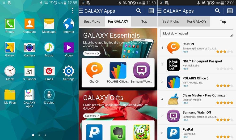 Galaxy Apps، استور رسمی گوشی های سامسونگ