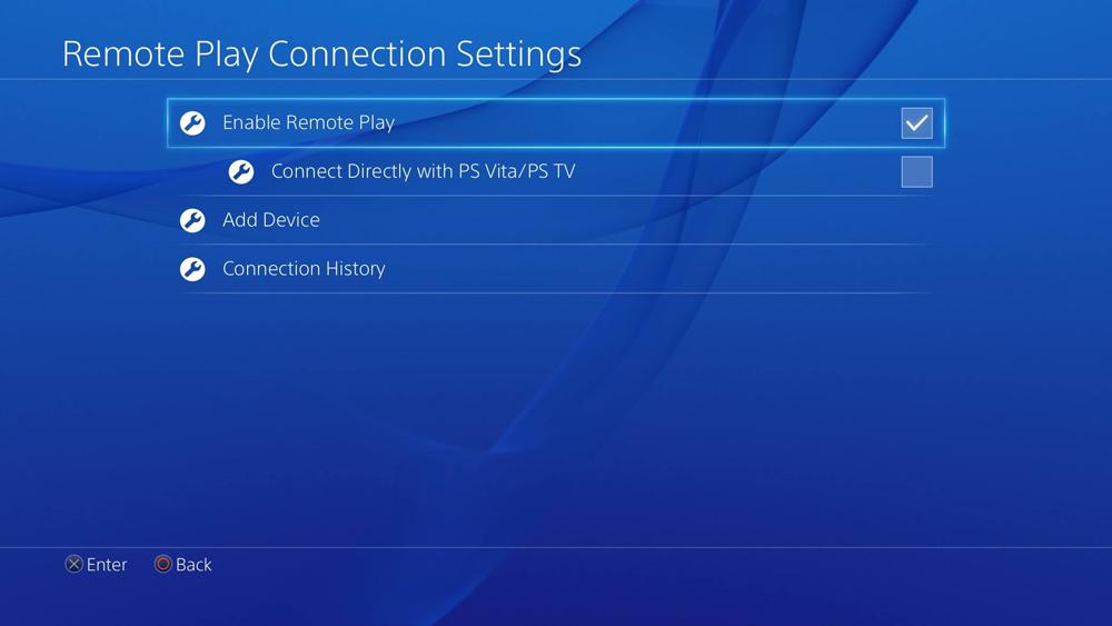 نرم افزار Remote Play را نصب کنید