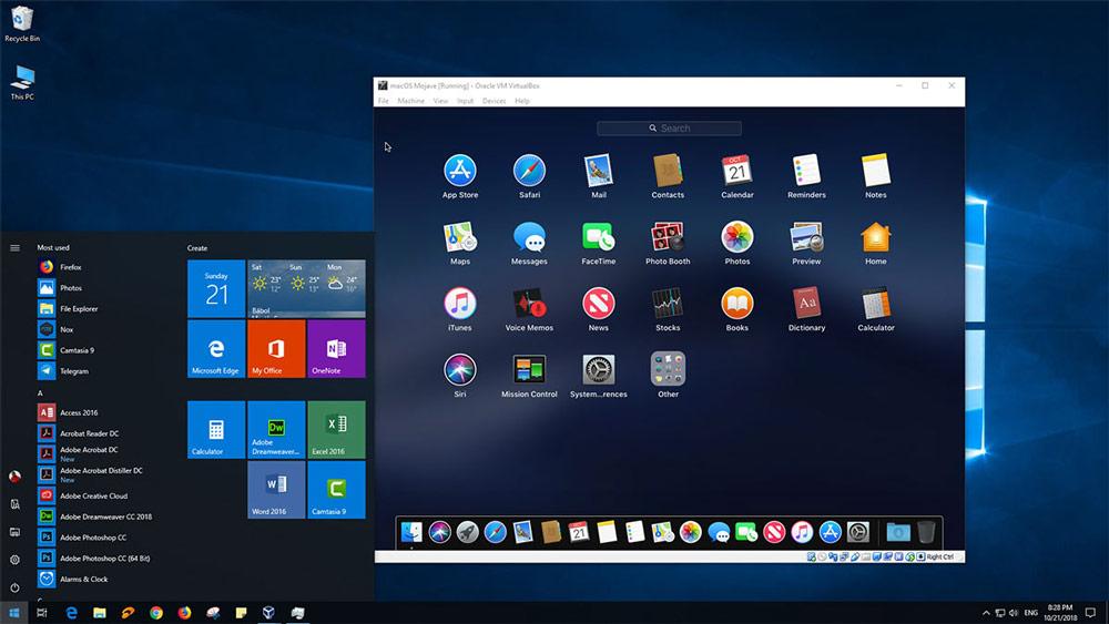 وب سایت روی Windows PC یا Mac کلیک کنید