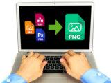 آموزش تبدیل فرمت تصاویر به PNG