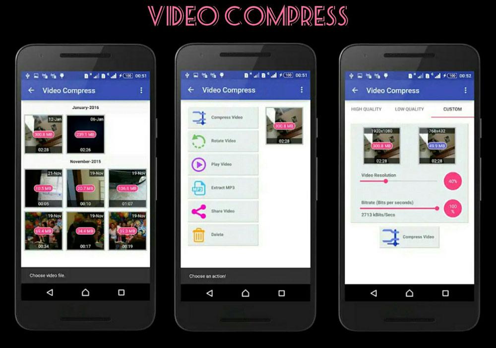 نرم افزار Video Compress، ابزاری مناسب برای کاهش حجم ویدئو