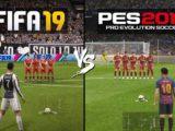 مقایسه بازی فیفا 2019 و پی اس 2019