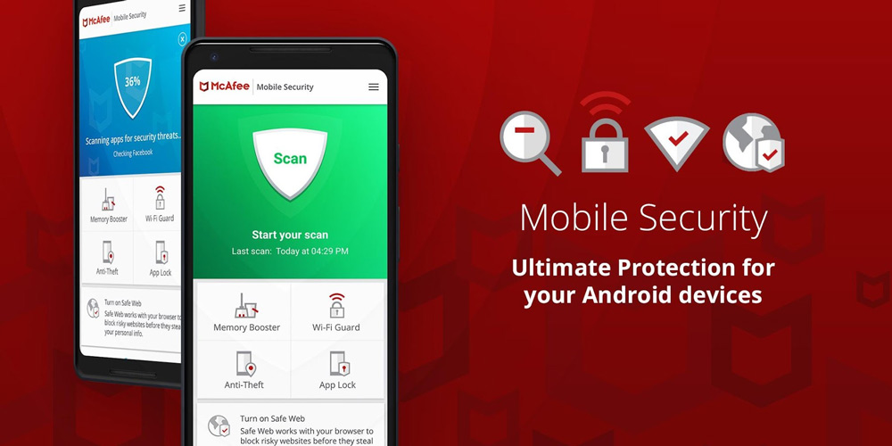 آنتی ویروس McAfee Mobile Security & Lock