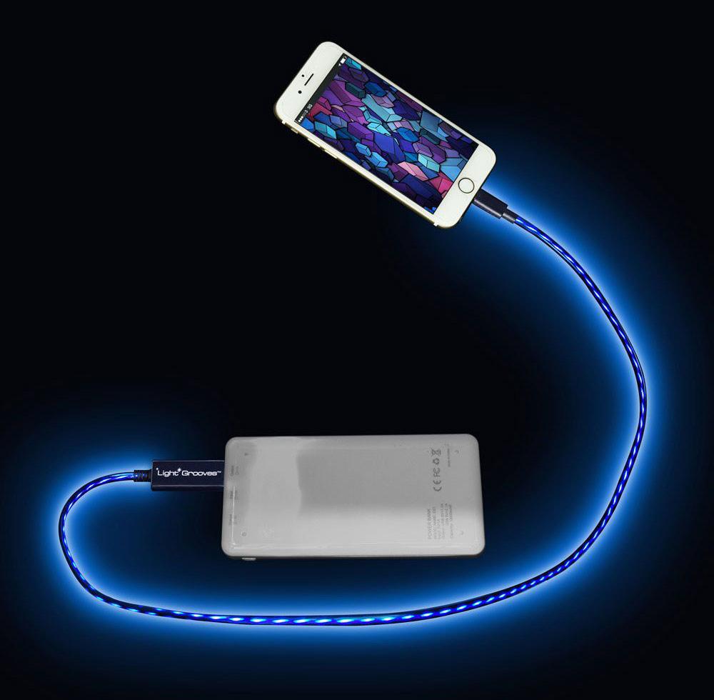 کابل شارژ درخشنده