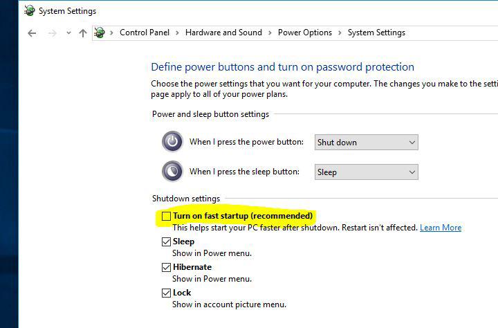 قسمت باید وارد کنترل پنل دستگاه خود شوید و سپس گزینه Power Options را انتخاب کنید