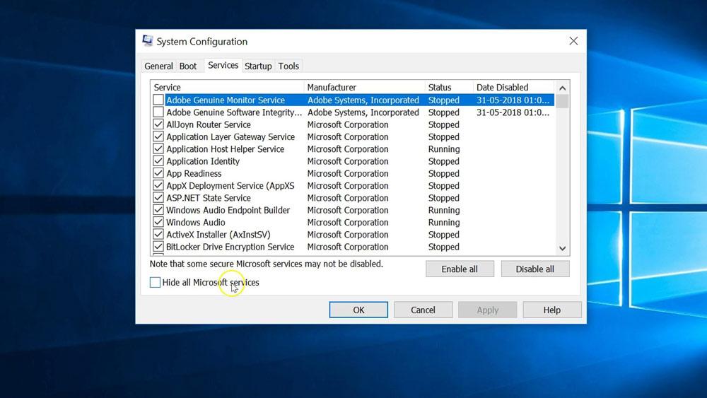 کامپیوتر خود را در حالت Safe Mode ریستارت کنید