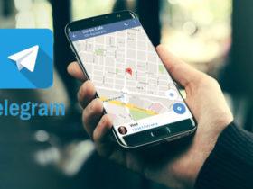 آموزش ارسال لوکیشن (location) در تلگرام