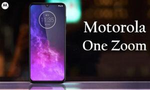 مشخصات گوشی هوشمند موتورولا One Zoom اعلام شد