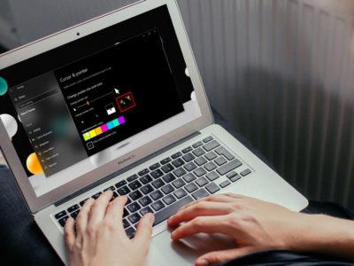 آموزش تغییر رنگ و اندازه نشانگر موس در ویندوز 10