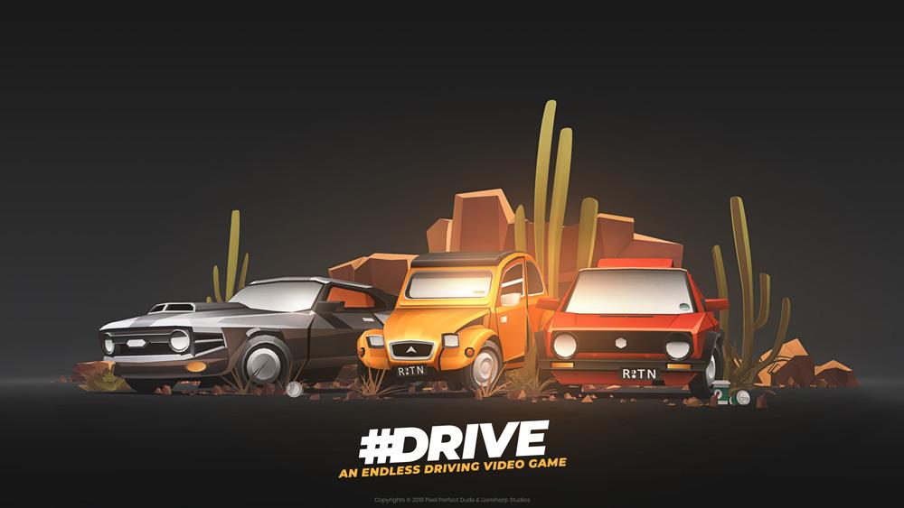 بازی مسابقه ای #Drive