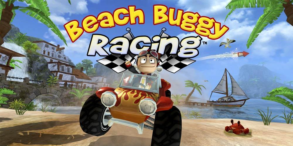 بازی مسابقه ای Beach Buggy Racing