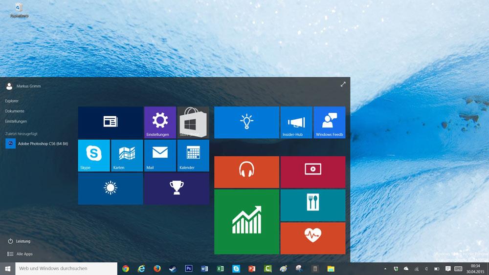 ویندوز 10 نسخه 64 بیت