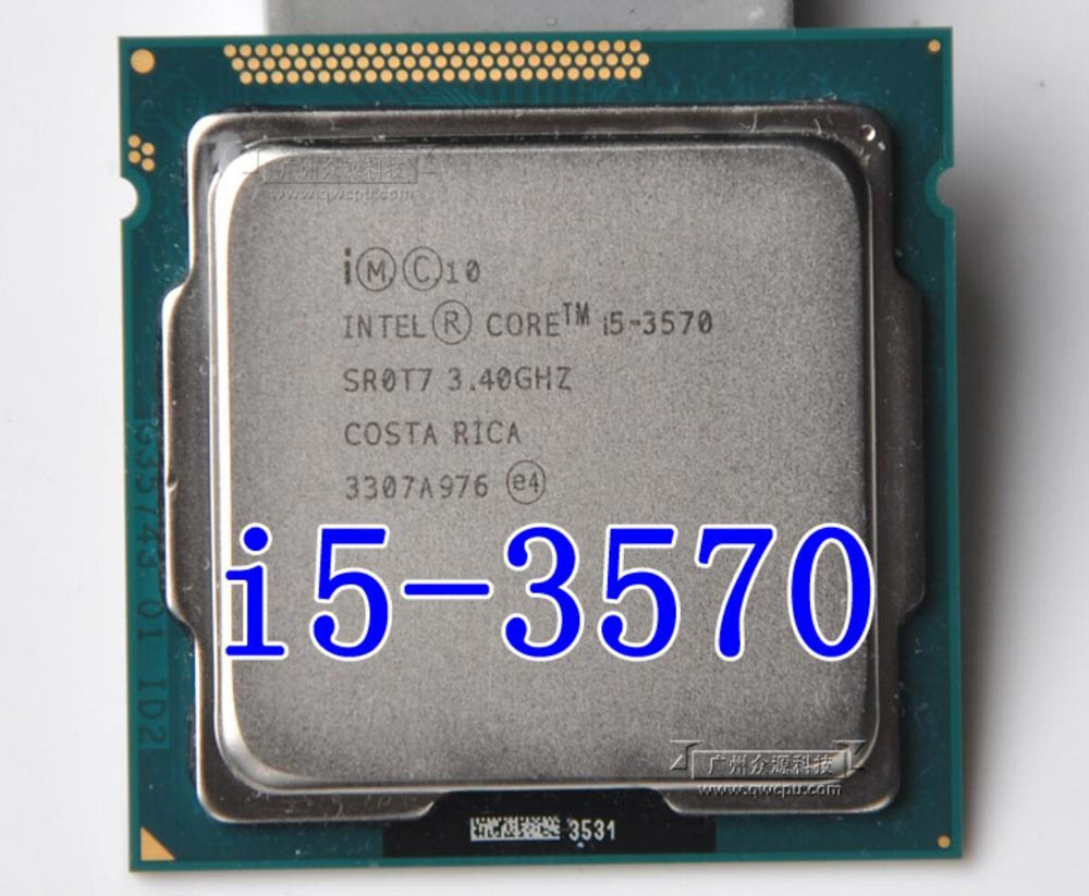 پردازنده Intel Core i5-3570