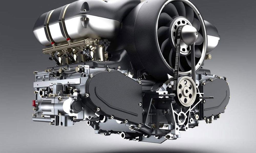 هنگامى که موتور خاموش است سطح مایع خنک کننده