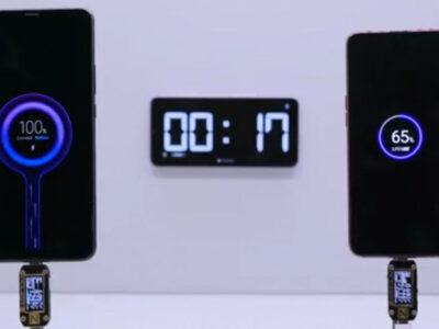 فناوری شارژ سریع 100 واتی شیائومی روز آینده رونمایی می شود